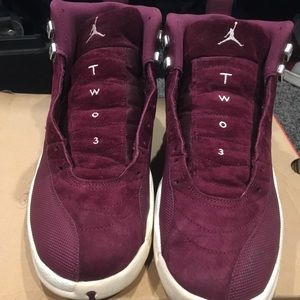 Air Jordan 12 Bordeaux size 12